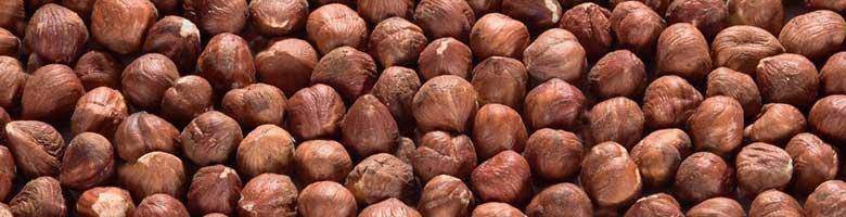 Hazelnoten bevatten 650 mg kalium per 100 gram