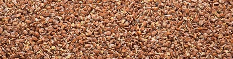 Lijnzaad bevat 700 mg per 100 gram
