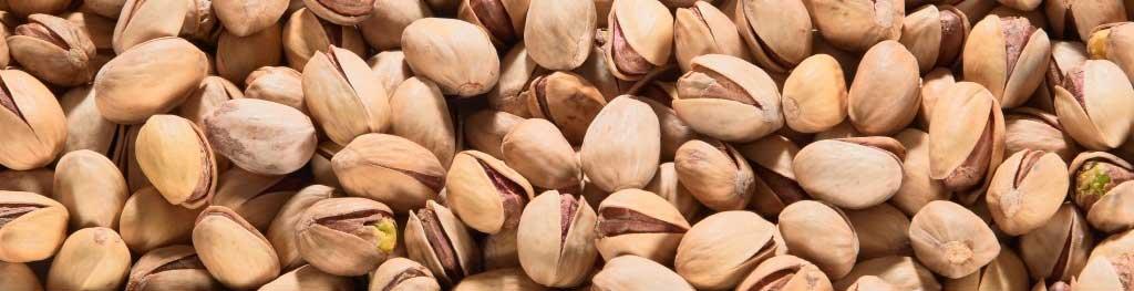 Pistachenoten bevatten 1100 mg kalium per 100 gram